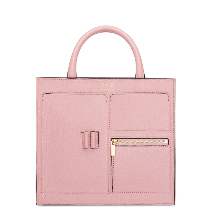 Mini Kit Zip Satchel - Rose Pink - OAD NEW YORK
