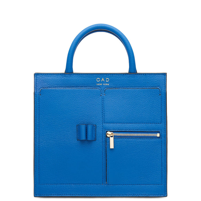 Mini Kit Zip Satchel - Sea Blue - OAD NEW YORK