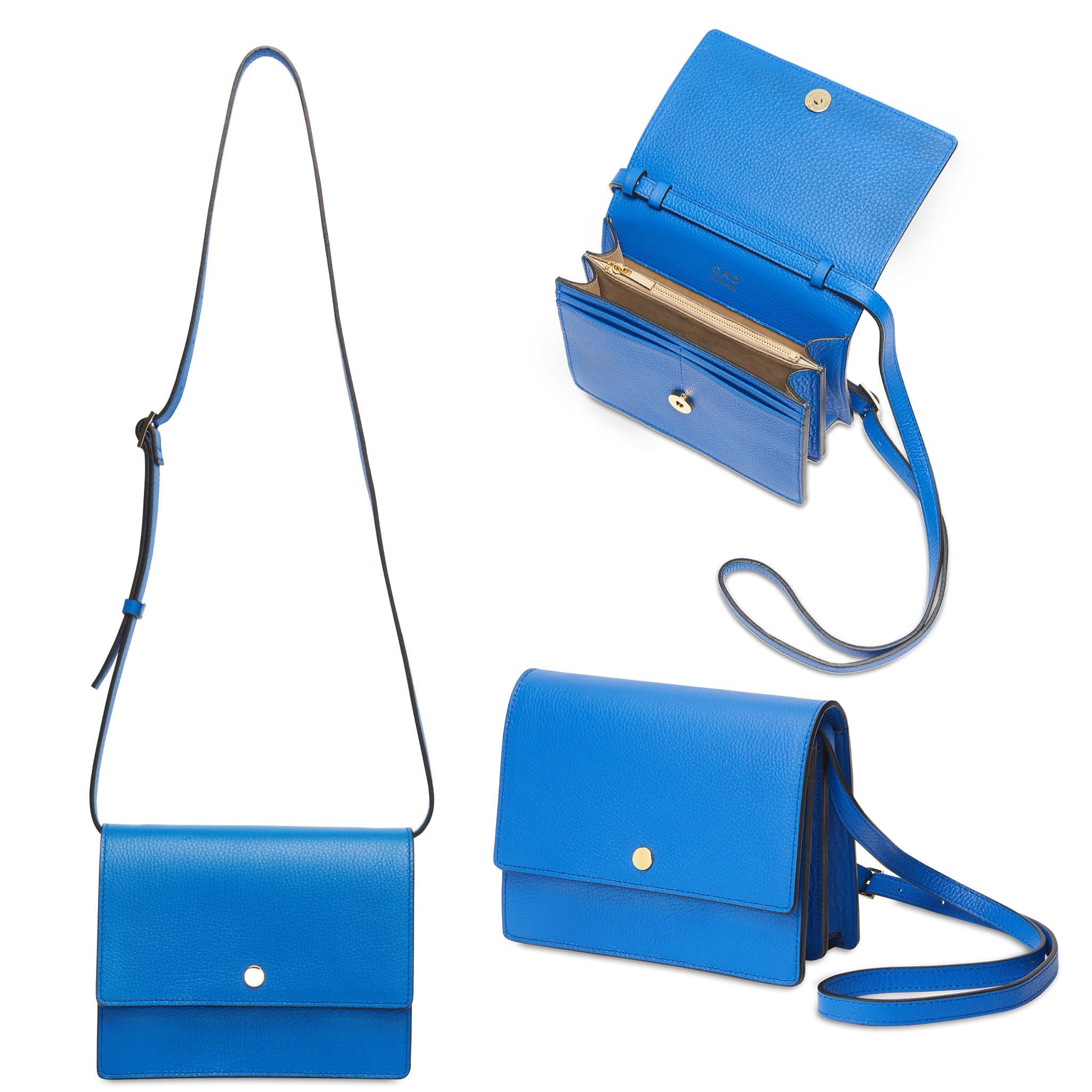 Mini Messenger Courier - Sea Blue - OAD NEW YORK