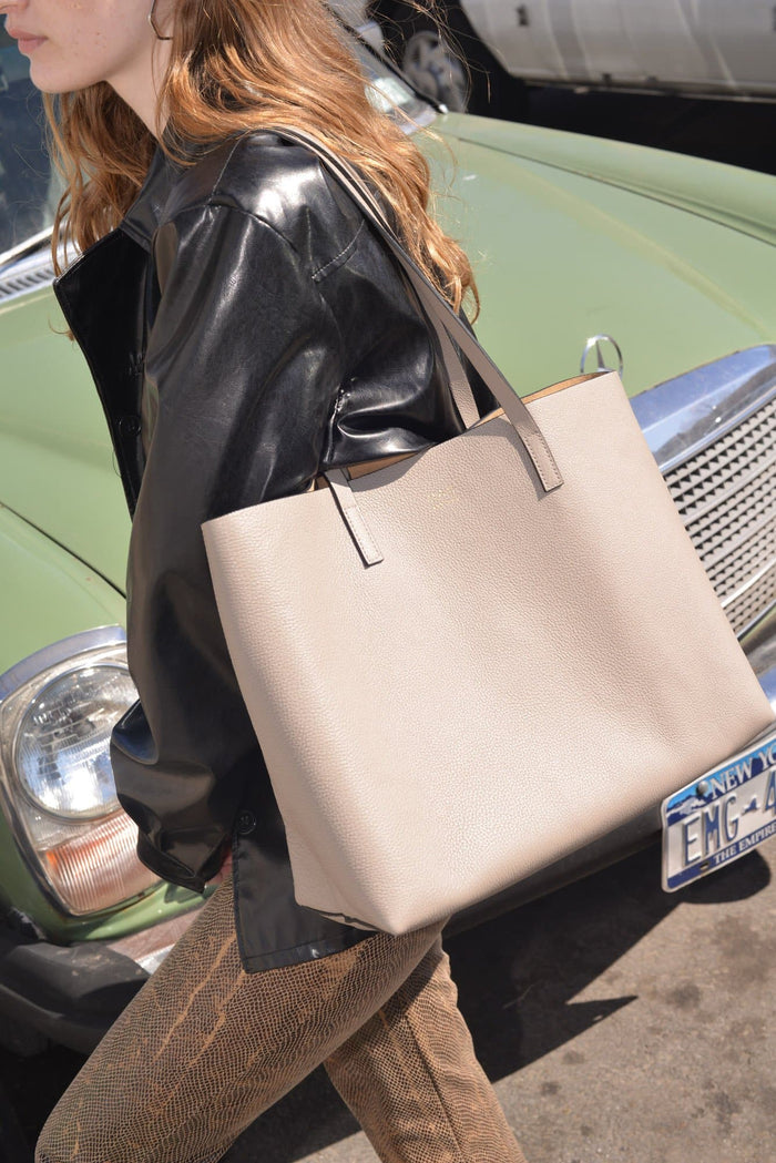 Carryall Tote - Taupe - OAD NEW YORK