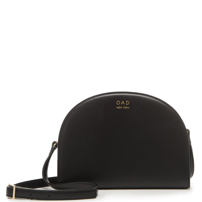 Calf Dia Crossbody - True Black - OAD NEW YORK