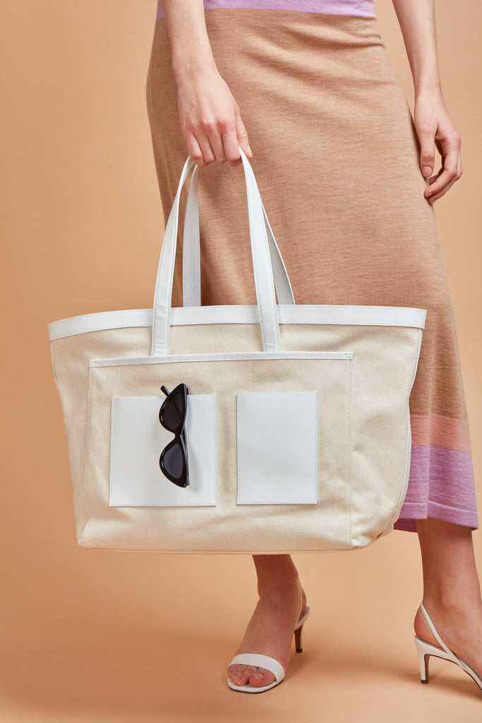Rylie Bag - Bright White - OAD NEW YORK
