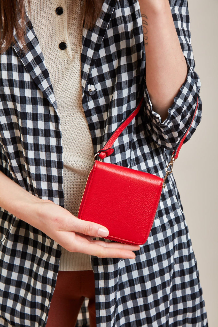 Mimi Wallet - Classic Red - OAD NEW YORK