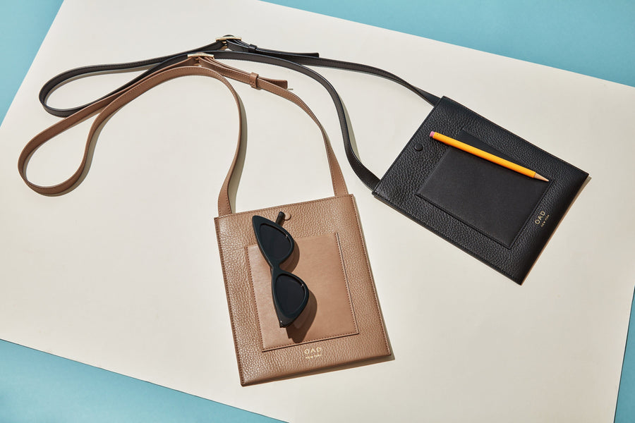 Dylan Crossbody - True Black - OAD NEW YORK