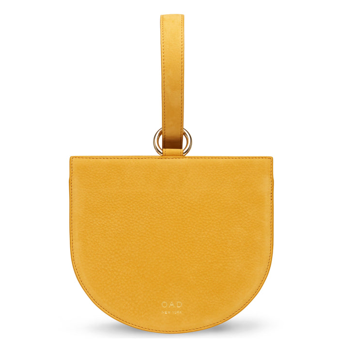 Nubuck Dome Wristlet - Honey (s)