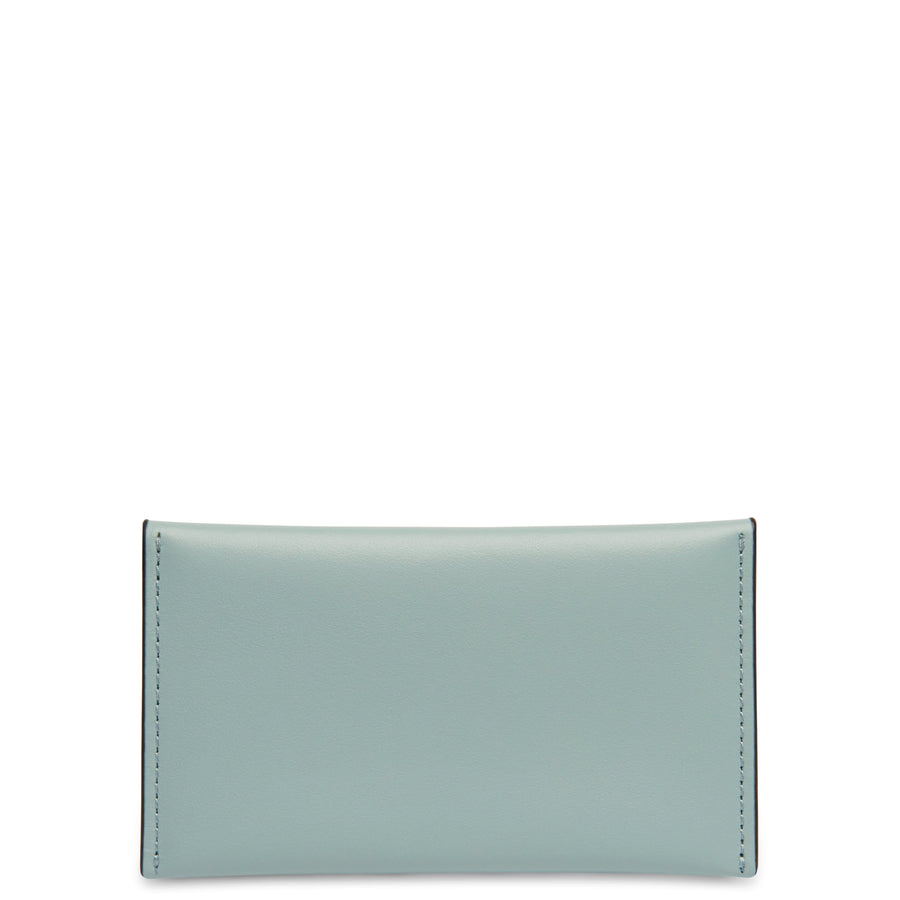 Calf Carryall Card Case - Cloud Blue + Honey - OAD NEW YORK