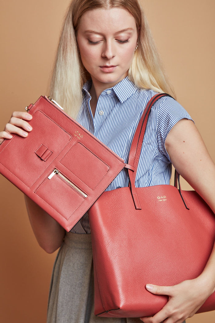 Carryall Tote - Rosewood (s)