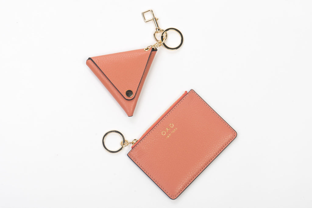 Triangle Key Ring - Clementine - OAD NEW YORK