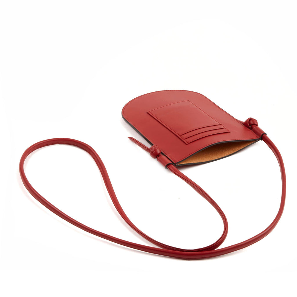 Isla Phone Sling - Brick Red