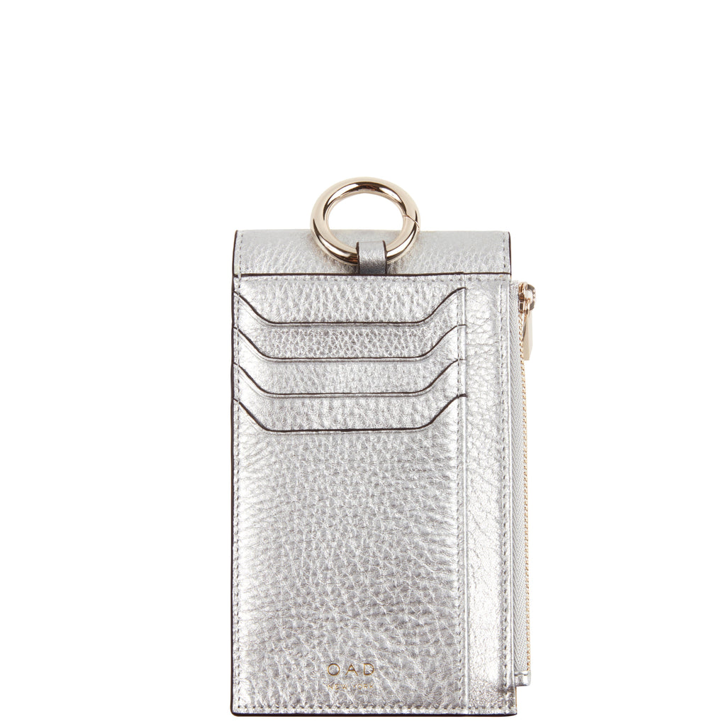 Izzi Phone Crossbody - Silver