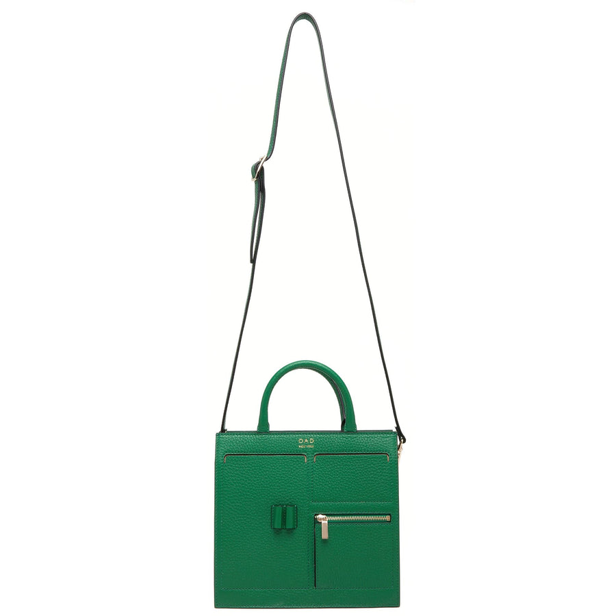 Mini Kit Zip Satchel - Kelly Green
