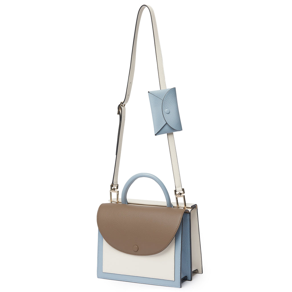 Assembly Bag - Porcini + Powder Blue + Creme - OAD NEW YORK