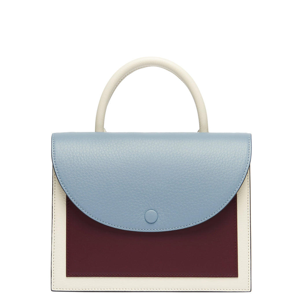 Assembly Bag - Powder Blue + Creme + Bordeaux - OAD NEW YORK