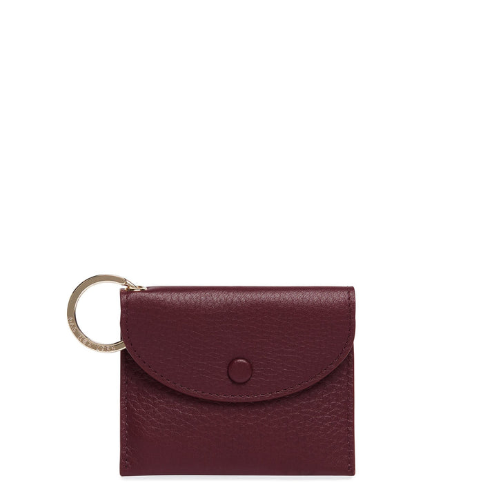 Assembly Mini Card Case - Bordeaux - OAD NEW YORK