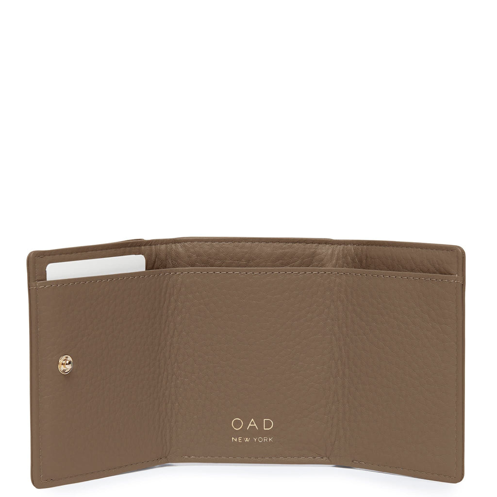 Assembly Mini Wallet - Porcini - OAD NEW YORK
