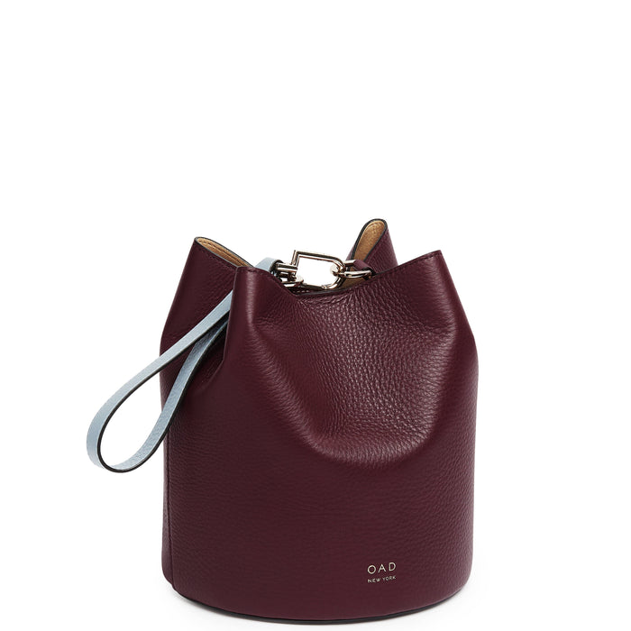 Ava Bag - Bordeaux + Creme + Powder Blue - OAD NEW YORK