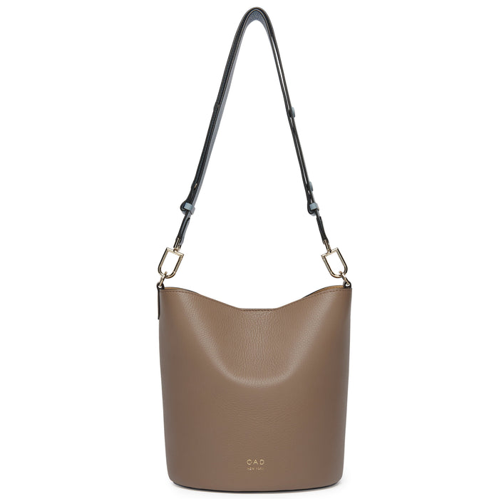 Ava Bag - Porcini + Powder Blue + Creme - OAD NEW YORK