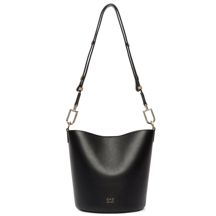 Ava Bag - True Black + Porcini + Creme - OAD NEW YORK