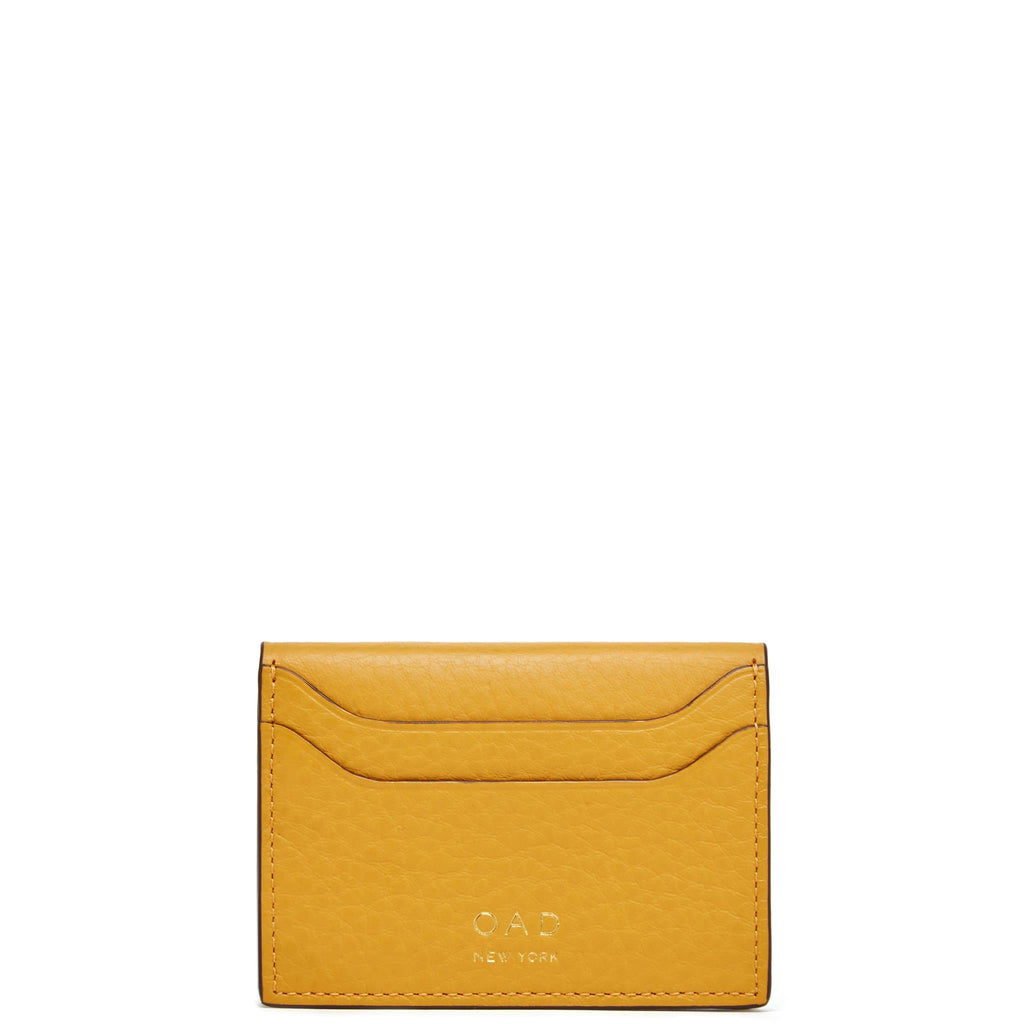 Billy Card Case - Ochre - OAD NEW YORK