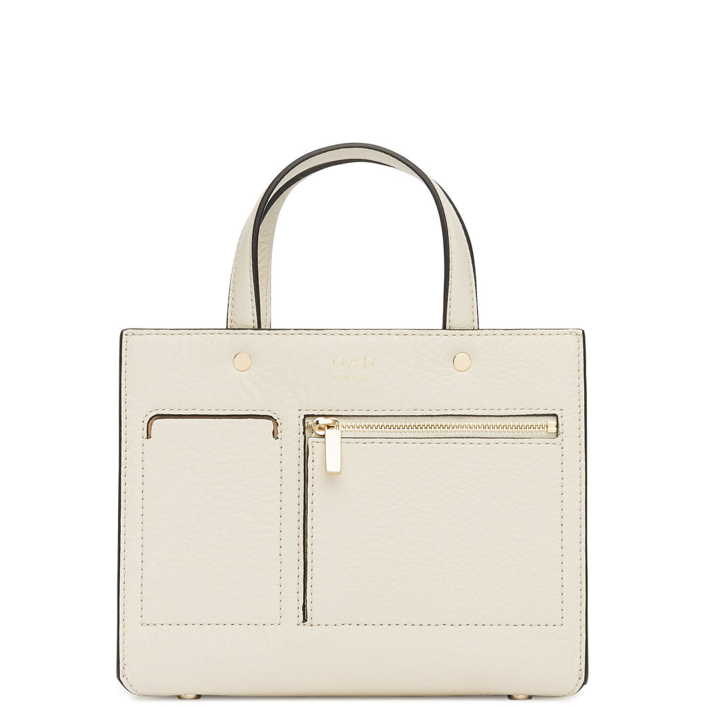 CL Mini Pocket Tote - Creme - OAD NEW YORK