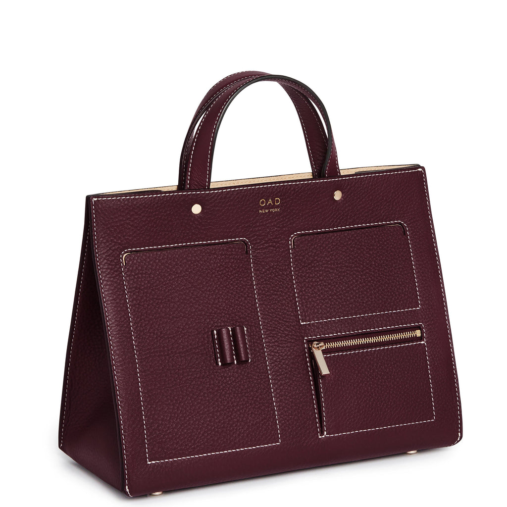 CL Pocket Tote - Bordeaux - OAD NEW YORK