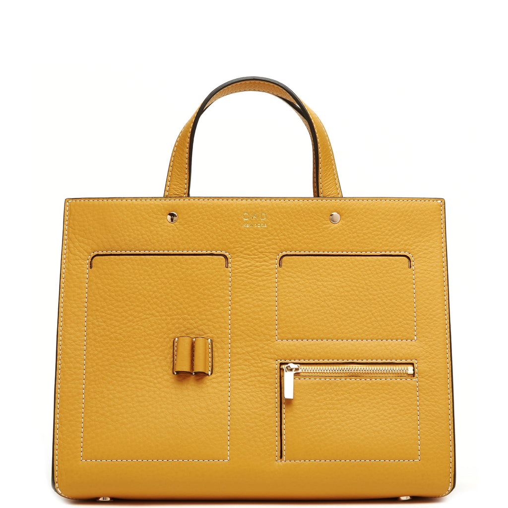 CL Pocket Tote - Ochre - OAD NEW YORK