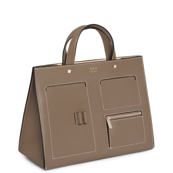 CL Pocket Tote - Porcini - OAD NEW YORK