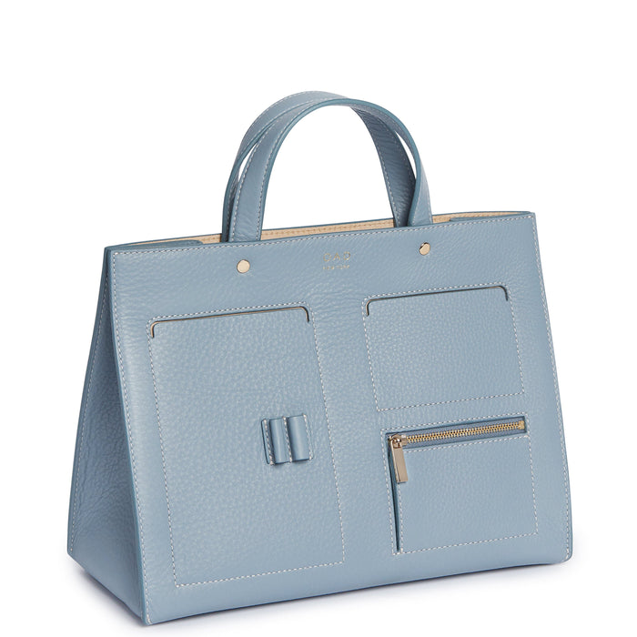 CL Pocket Tote - Powder Blue - OAD NEW YORK