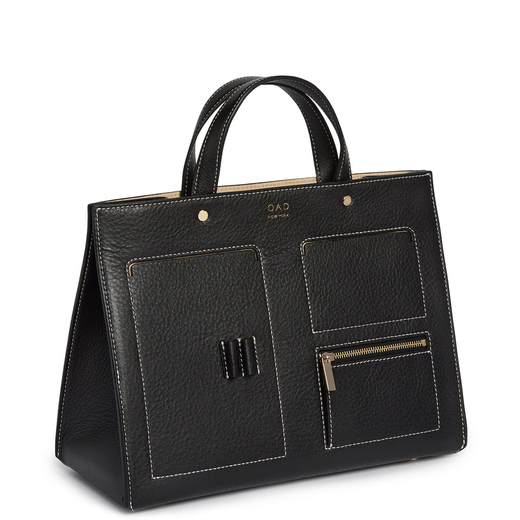 CL Pocket Tote - True Black - OAD NEW YORK