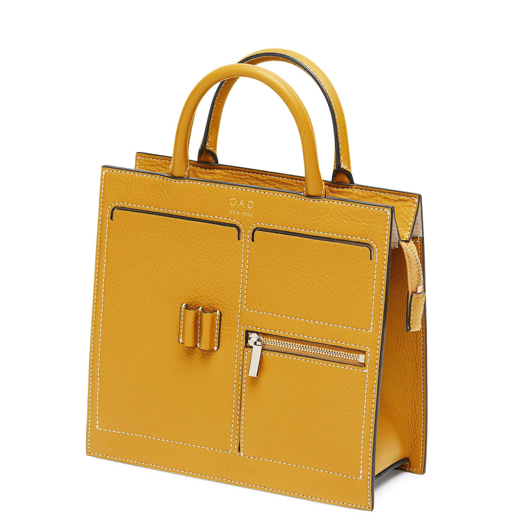 C Mini Kit Zip Satchel - Ochre - OAD NEW YORK