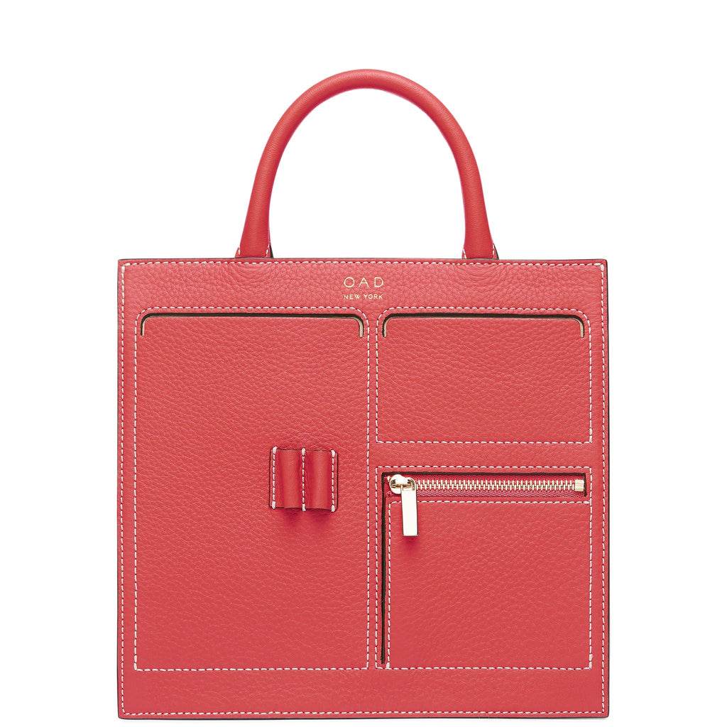 C Mini Kit Zip Satchel - Poppy - OAD NEW YORK