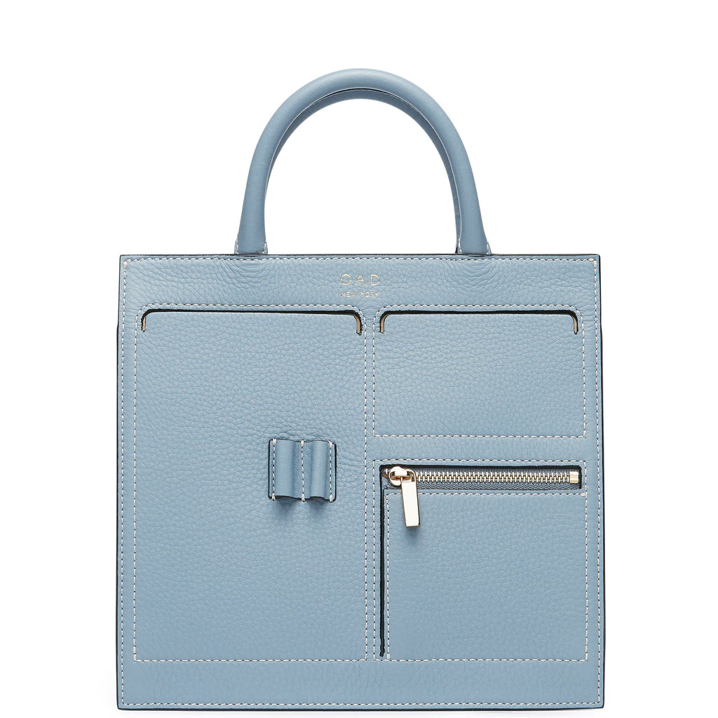 C Mini Kit Zip Satchel - Powder Blue - OAD NEW YORK