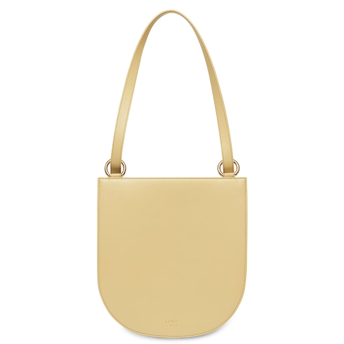 Calf Dome Hobo - Toasted Almond - OAD NEW YORK