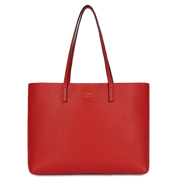 Carryall Tote - Classic Red - OAD NEW YORK