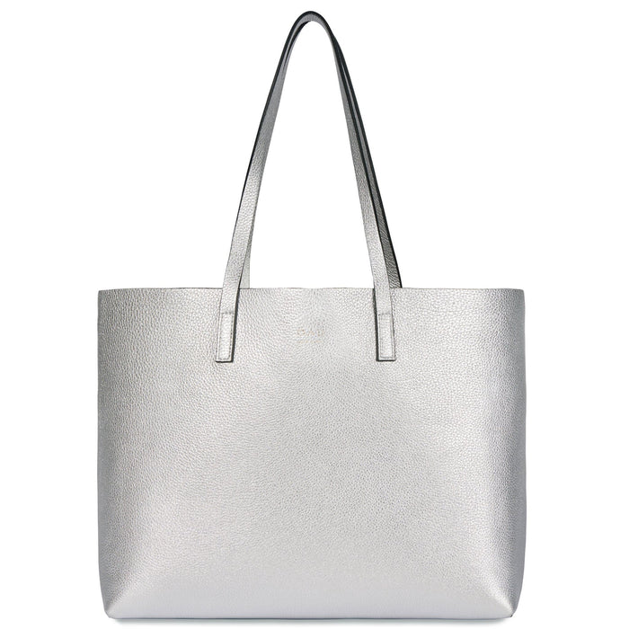 Carryall Tote - Silver - OAD NEW YORK