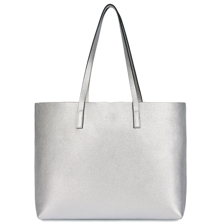 Carryall Tote - Silver (s) - OAD NEW YORK