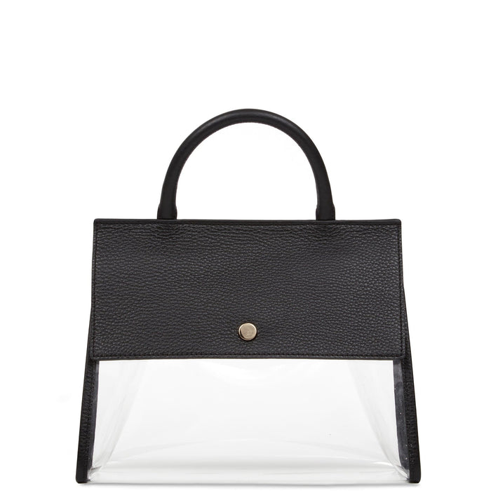 Clear Harper Tote - True Black - OAD NEW YORK