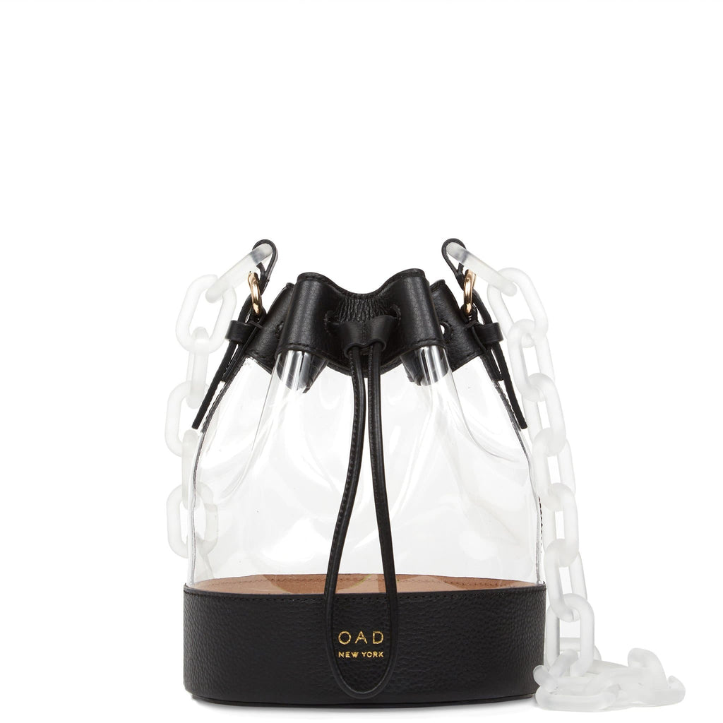 Clear Marta Bag - True Black - OAD NEW YORK