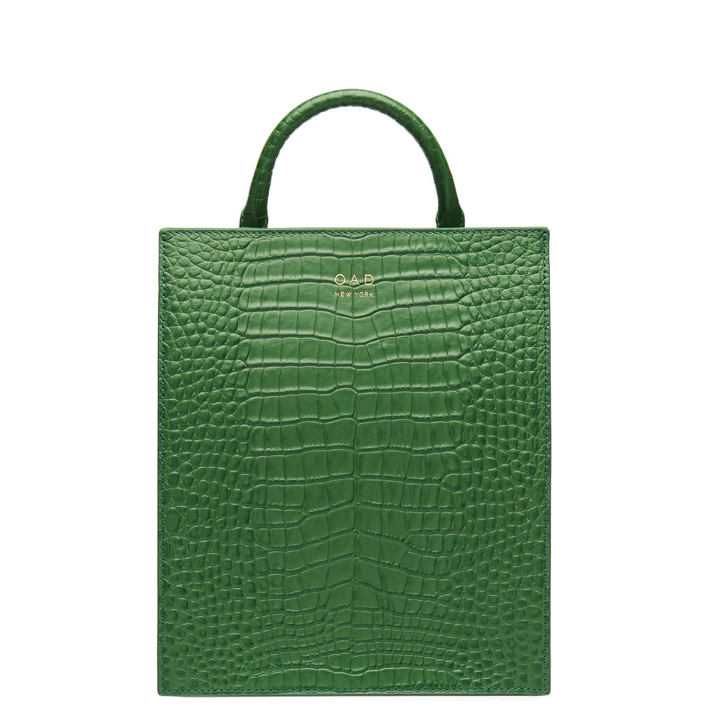 Croco Mini Arc Backpack - Fern - OAD NEW YORK