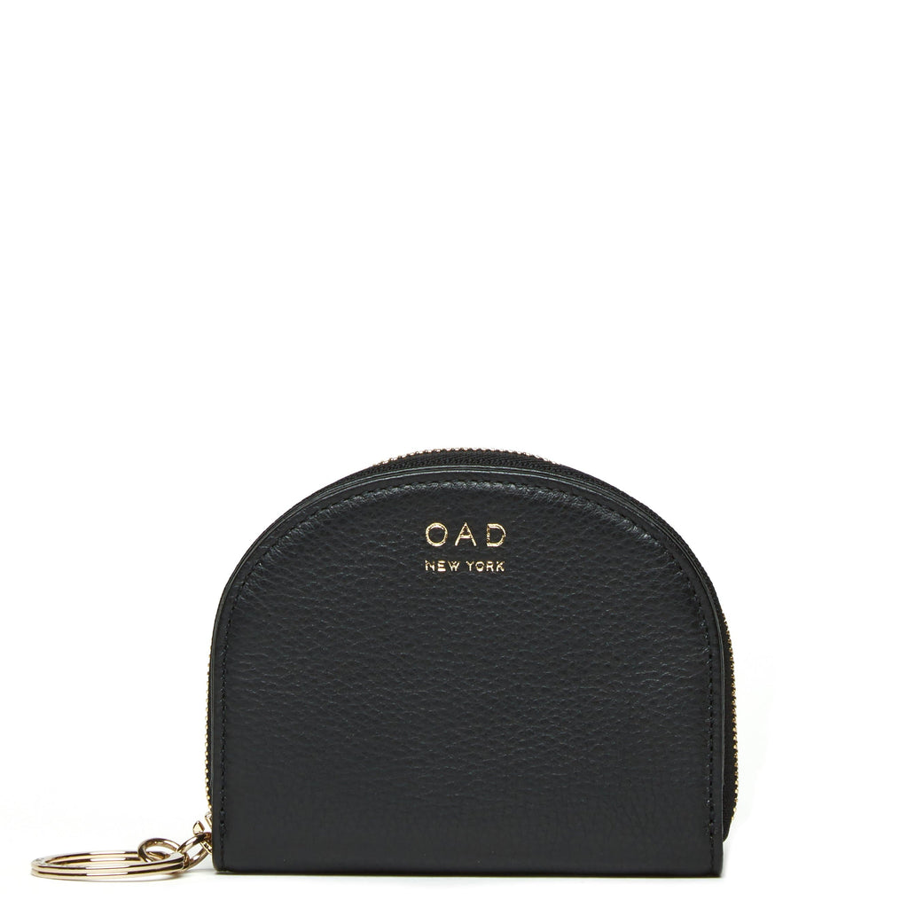 Dia Mini Mirror Wallet - True Black - OAD NEW YORK