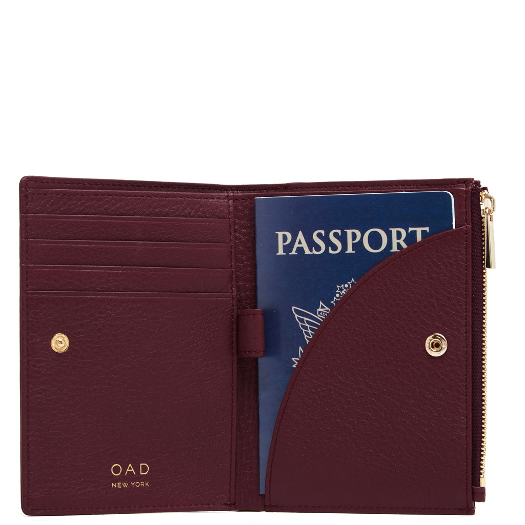 Everywhere Travel Wallet - Bordeaux