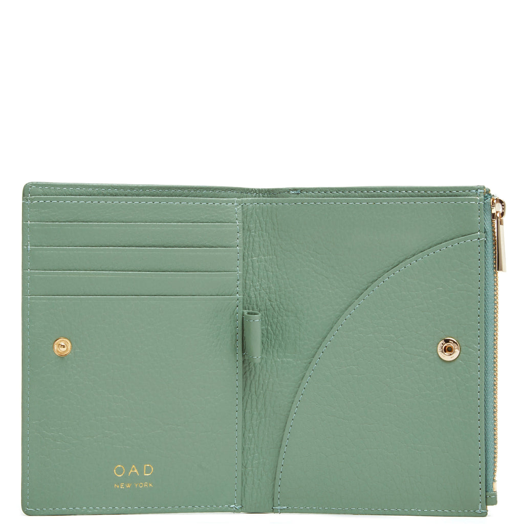 Everywhere Wallet - Celadon - OAD NEW YORK