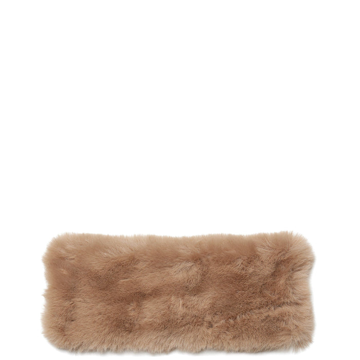 Faux Fur Handle Cover Mini - Porcini - OAD NEW YORK