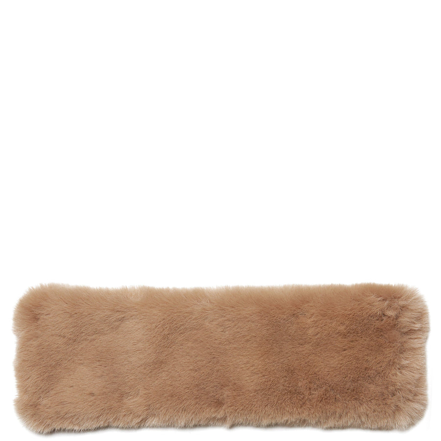 Faux Fur Handle Cover - Porcini - OAD NEW YORK