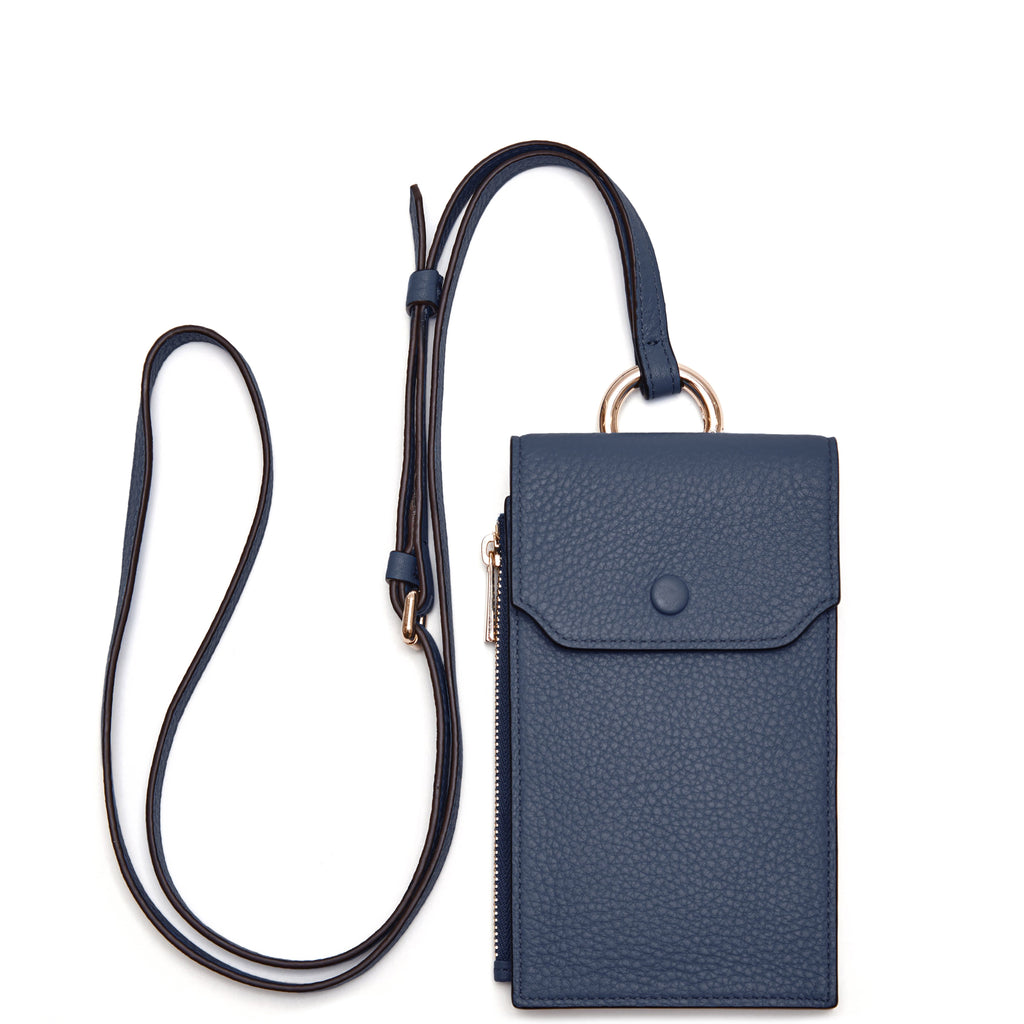 Izzi Phone Crossbody - Midnight Blue
