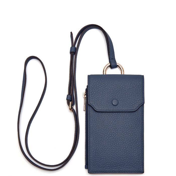 Izzi Phone Crossbody - Midnight Blue - OAD NEW YORK