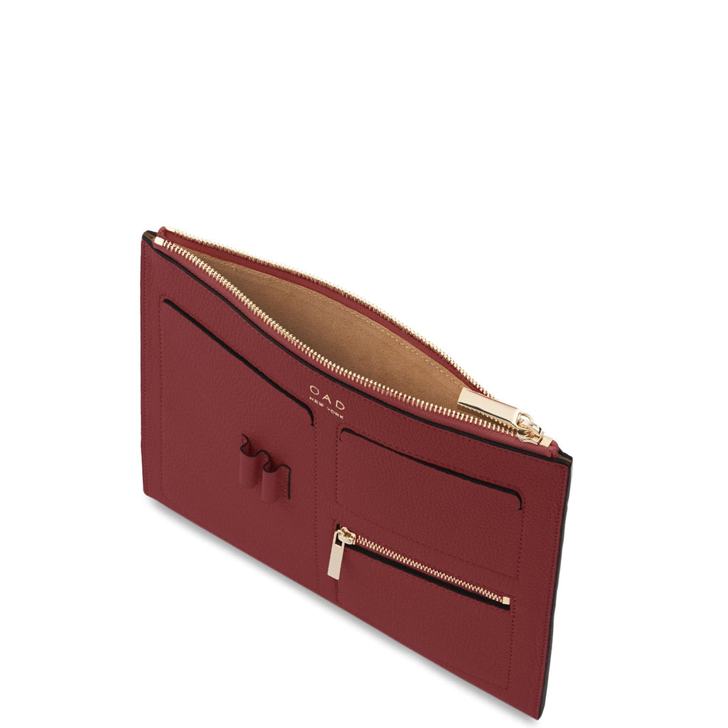 Kit Clutch - Dark Wine - OAD NEW YORK