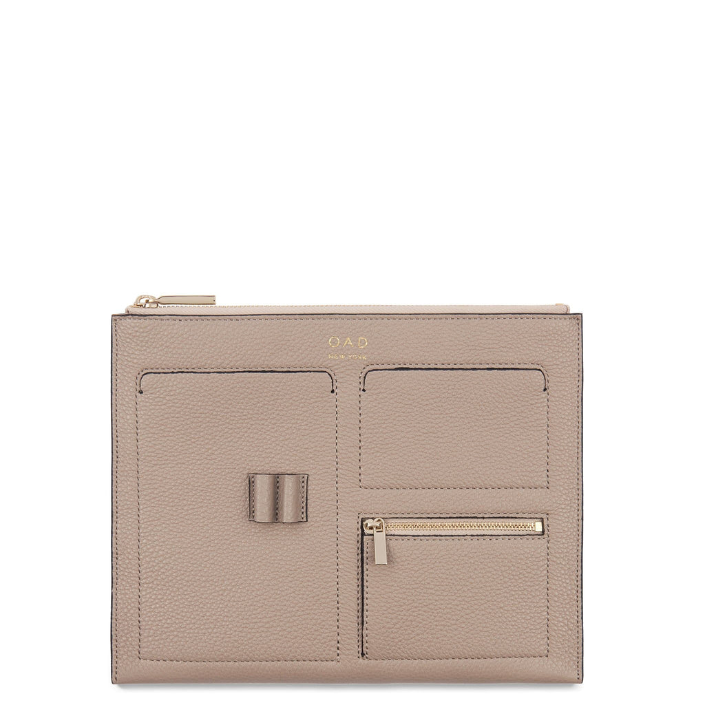 Kit Clutch - Taupe - OAD NEW YORK