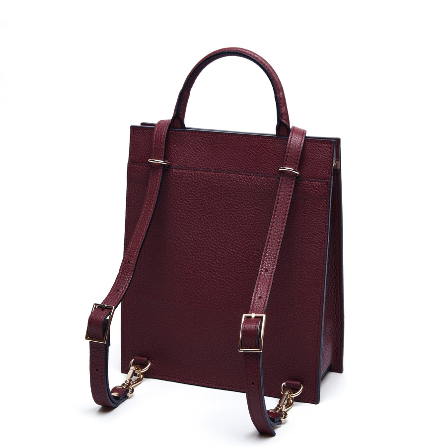 Mini Arc Backpack - Bordeaux - OAD NEW YORK