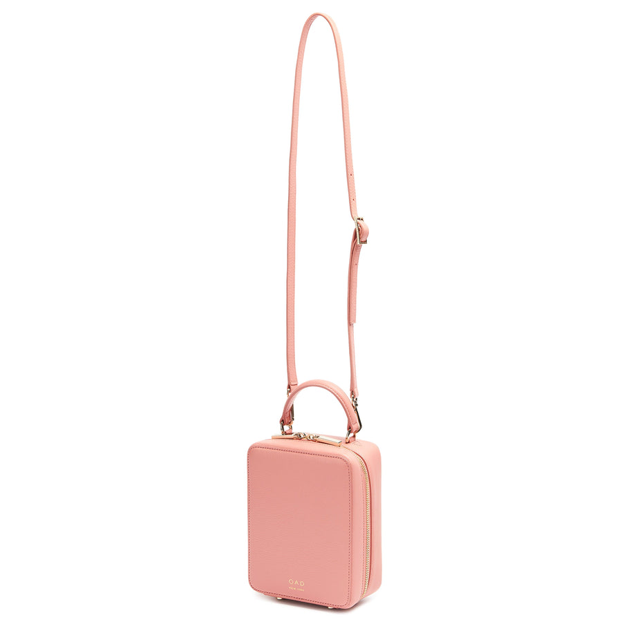 Mini Box Crossbody - Blush - OAD NEW YORK